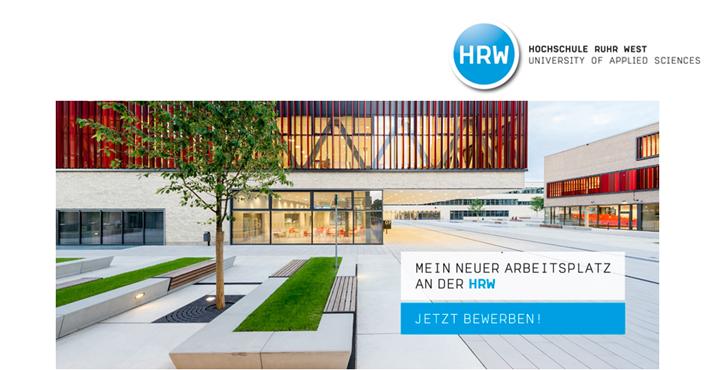 Professur (W2) Angewandte Mathematik - HRW - Logo