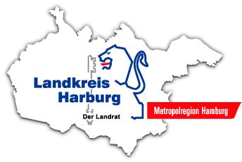Leitung für die Abteilung Bauen - Landkreis Harburg - Logo