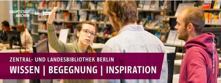 Vorstand der Stiftung Zentral- und Landesbibliothek Berlin - ZLB - Header