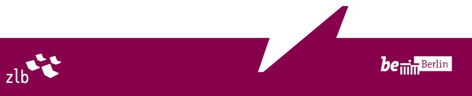 Vorstand der Stiftung Zentral- und Landesbibliothek Berlin - ZLB - Logo