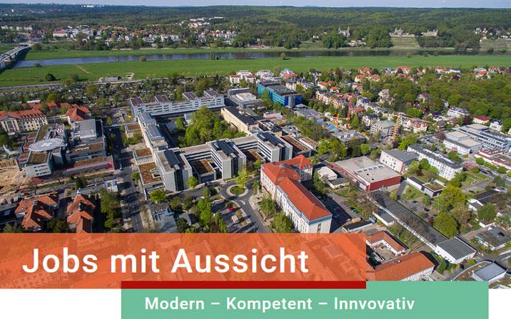 Wissenschaftlicher Referent des Direktors (m/w/d) - Uniklinik Dresden - Header