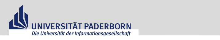 Mitarbeiter (m/w/d) im Marketing in der Stabsstelle Presse, Kommunikation und Marketing - Universität Paderborn - Logo