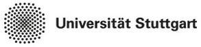 Wissenschaftlicher Mitarbeiter (m/w/d) - Uni Stuttgart - Logo