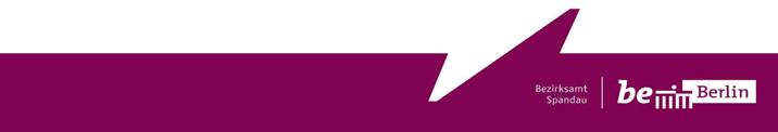 Volkshochschuldirektor/in, Magistratsdirektor/in, Tarifbeschäftigte/r - Bezirksamt Spandau - Logo