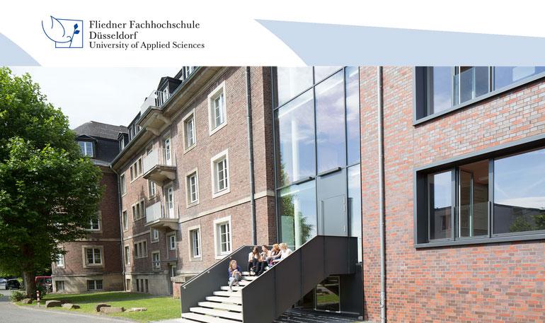 Vertretungsprofessur - Fliedner Fachhochschule Düsseldorf - Logo