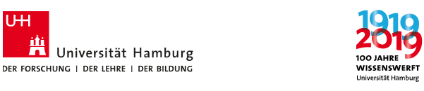 Universitätsprofessur (W3)  - Uni Hamburg - Logo