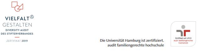 Verwaltungsleitung der Fakultät - Uni Hamburg - Zertifikat