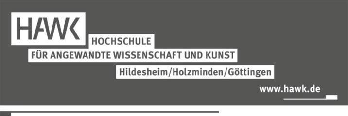 Wissenschaftliche/r Mitarbeiter/in (m/w/d) - HAWK - Logo