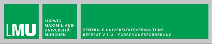 Referent (m/w/d) für Forschungsförderung - LMU - Logo