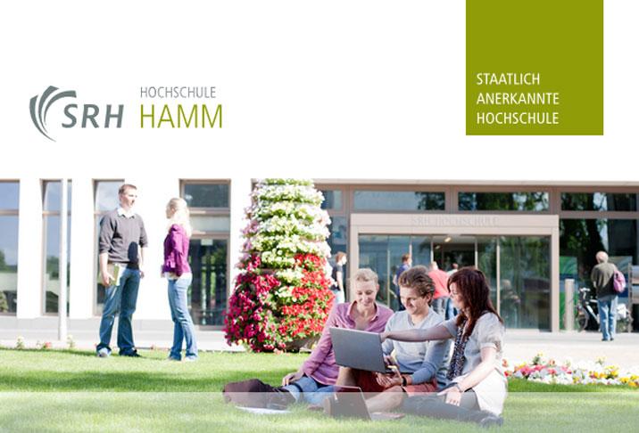 Wissenschaftlicher Mitarbeiter (m/w/d) - SRH Hochschule für Logistik und Wirtschaft Hamm - Logo