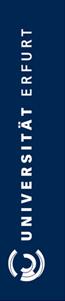 Assistenz im Sekretariat des Dekanats (m/w/d) - Universität Erfurt - Logo