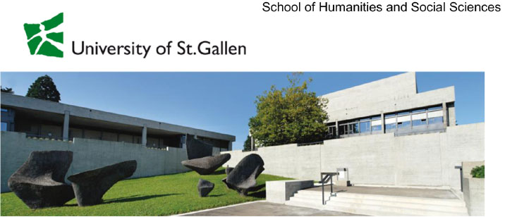 Assistant Professorship of French Studies - Universität St. Gallen - Logo