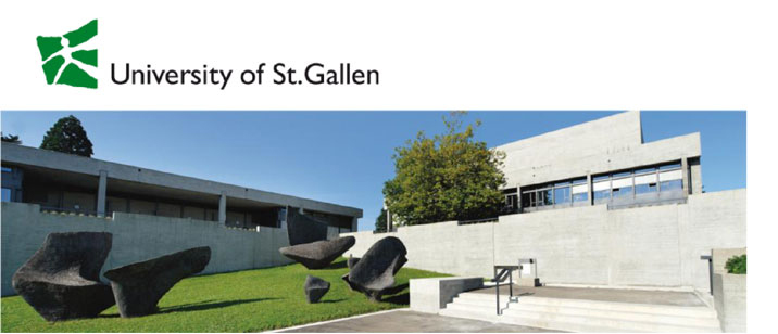 Assistant or Associate Professor in Programming (f/m/d) - Universität St. Gallen - Logo