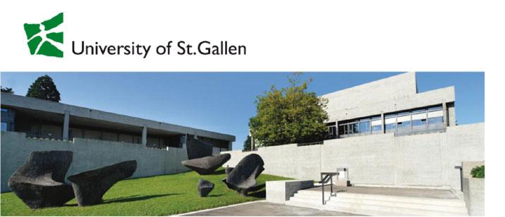 Assistant or Associate Professor in Programming (f/m/d) - Universität St. Gallen - Logo