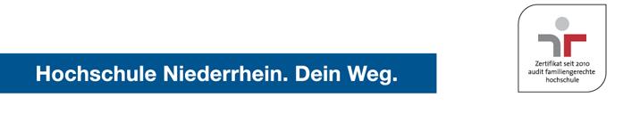 Professur (W2) - Hochschule Niederrhein - Zertifikat