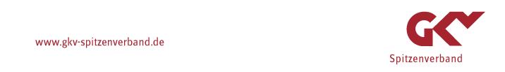 Referatsleitung (m/w/d) - GKV - Logo