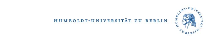Regionalreferent - Humboldt-Universität zu Berlin - Logo