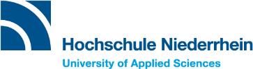 Professur - HS Niederrhein - Logo