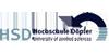 """Professur im Studiengang """"Angewandte Therapiewissenschaften"""" mit dem Schwerpunkt Physiotherapie - HSD Hochschule Döpfer - Logo"""