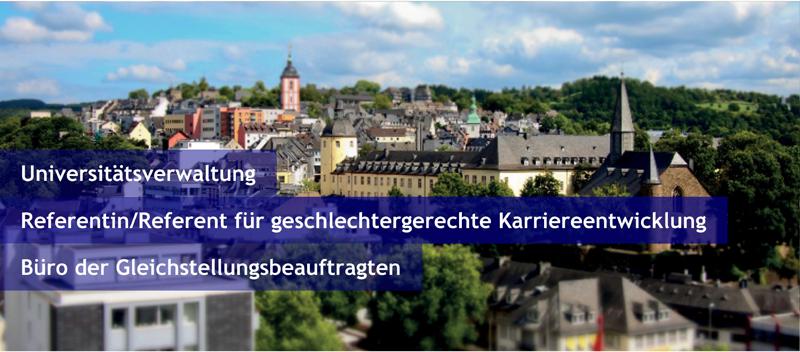 Referent (m/w/d) - Uni Siegen - Bild