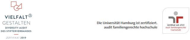 VERTRETUNGSPROFESSUR - Uni Hamburg - Zertifikat