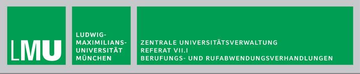 Mitarbeiter (m/w/d) - LMU - Logo