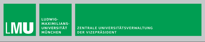 Referent (m/w/d) des Vizepräsidenten  - LMU - Logo