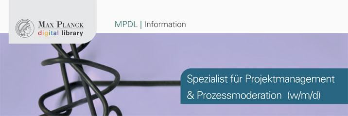 Spezialist (m/w/d) - Max Planck Digital Library - Logo