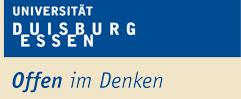 Professur (W3) - Uni Duisburg-Essen - logo