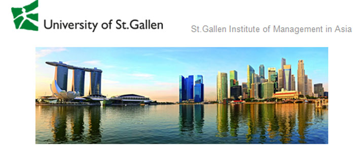 Postdoctoral Fellowship in Management - St.Gallen Institute of Management in Asia Pte Ltd - Logo