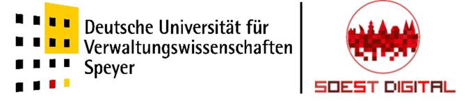 Wissenschaftlicher Mitarbeiter (m/w/d) - Uni Speyer - Logo