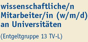 Wissenschaftlicher Mitarbeiter (m/w/d) - Uni Duisburg-Essen - Titel
