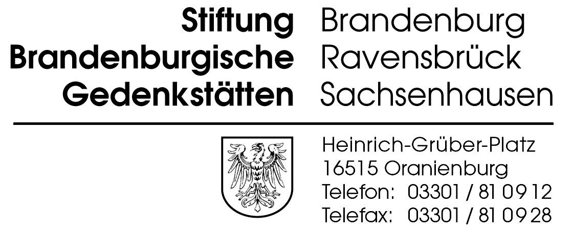Gedenkstättenleiter (m/w/d) - Stiftung Brandenburgische Gedenkstätten - Logo