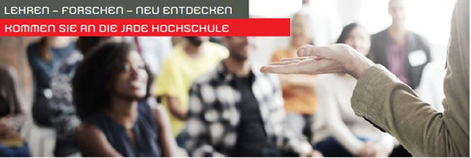 Professorship - Jade Hochschule - Header