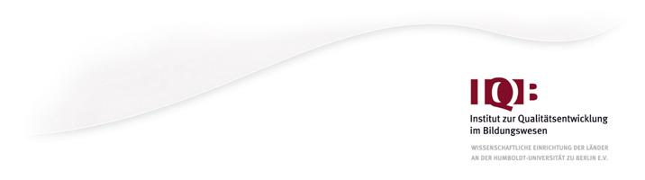 Verwaltungsleiter mit Schwerpunkt Controlling (m/w/d) - IQB - Logo