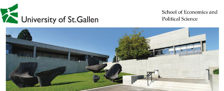 Assistant Professorship  - Universität St. Gallen - Logo