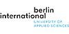 Professorship - Architectural Design and Construction - Berlin International University of Applied Sciences - Logo