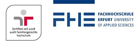 Nachwuchswissenschaftler (Prae-Doc) - Fachhochschule Erfurt - Logo