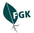 Nachwuchswissenschaftler (Prae-Doc) - FGK - Logo