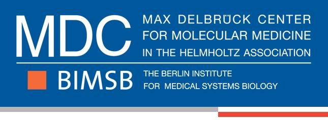 Project Manager - Max-Delbrück-Centrum für Molekulare Medizin (MDC) - Logo