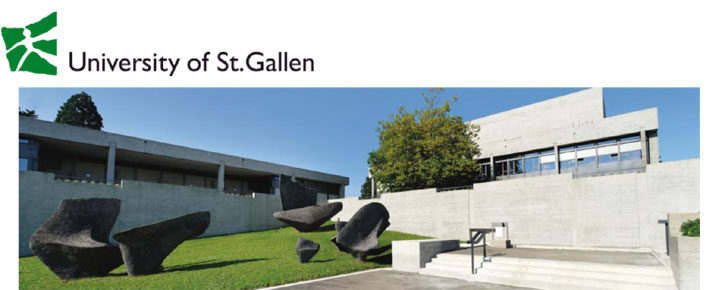 Tenure-Track Assistant Professorship  - Universität St. Gallen - Logo