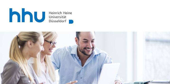 Wissenschaftlicher Beschäftigter (m/w/d) - Heinrich-Heine-Universität Düsseldorf - Logo