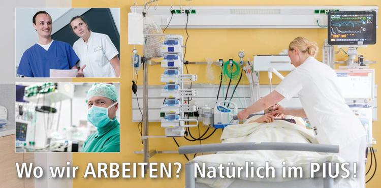 Fachärztin/-arzt oder Assistenzärztin/-arzt (m/w/d) - pius hospital - Header