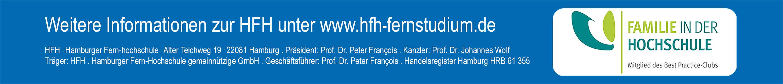 Professur (w/m/d) - Hamburger Fern-Hochschule - Logo