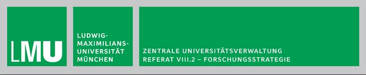 Mitarbeiter (m/w/d) im Wissenschaftsmanagement  - LMU - Logo