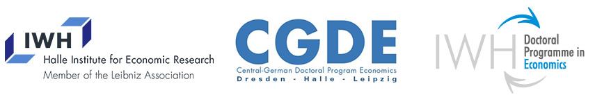 Wissenschaftlicher Mitarbeiter / Doktorand (m/w/d) - IWH Halle - Logo