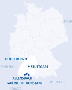 Assistenzarzt Neurologie (m/w/d) - Kliniken Schmieder - Karte