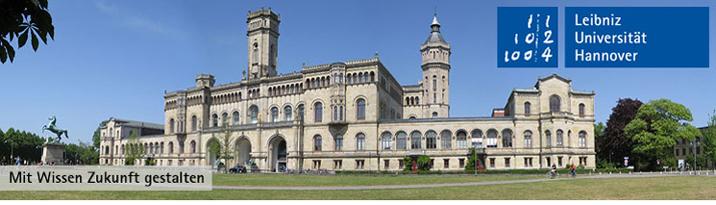 Juniorprofessur (W1) - Gottfried-Wilhelm-Leibniz-Universität Hannover
