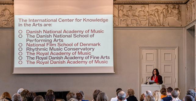 Professorship for Artistic Research - Center for Kunstnerisk Viden og Udvikling - Logo