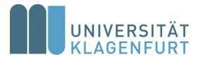 Universitätsassistent (m/w/d) an der Fakultät für Wirtschaftswissenschaften, Institut für Volkwirtschaftslehre - Alpen-Adria-Universität Klagenfurt - Logo